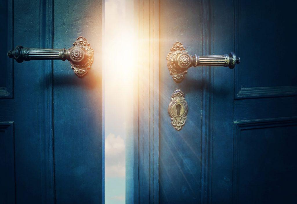 Open doors to new adventure