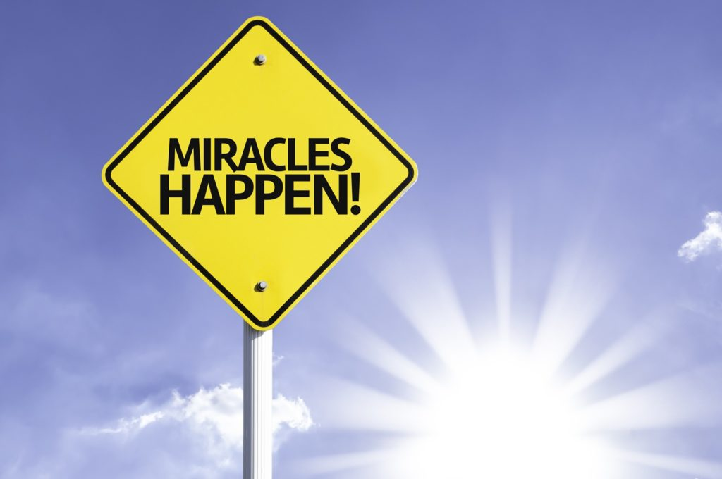 Miracle happens