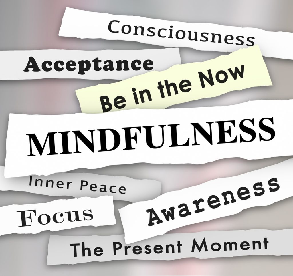 mindfulness, being in the present moment