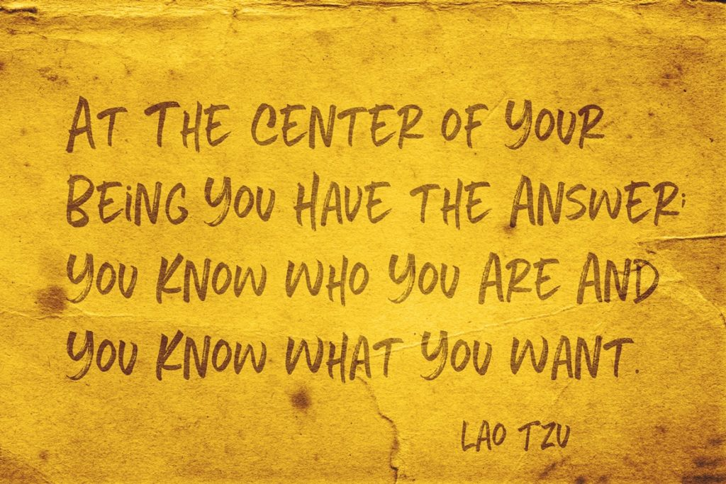Lao Tzu quote on knowing thyself